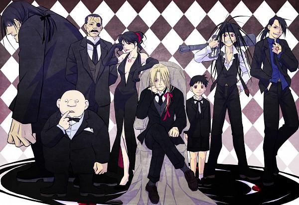 Tags: Anime, Nagi Yusura, SQUARE ENIX, Fullmetal Alchemist, Fullmetal Alchemist Brotherhood, Selim Bradley, Greed (FMA), Lust (FMA), Father (FMA), Wrath (FMA), King Bradley, Gluttony (FMA), Sloth (FMA)