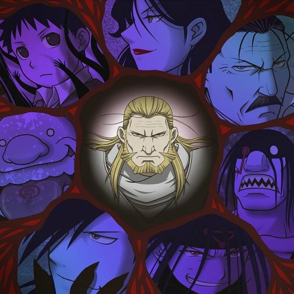 Wrath Fma King Bradley Page 2 Of 3 Zerochan Anime Image Board