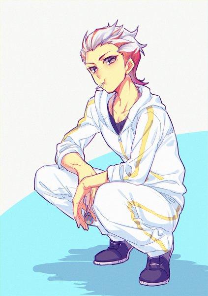 Tags: Anime, Ryou*, Yu-Gi-Oh! VRAINS, Yu-Gi-Oh!, Homura Takeru, Track Pants, Twitter, Fanart