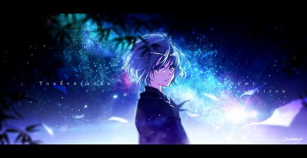 Tags: Anime, mokoppe, Touken Ranbu, Honebami Toushirou, Pixiv, Fanart, Fanart From Pixiv, Facebook Cover, PNG Conversion