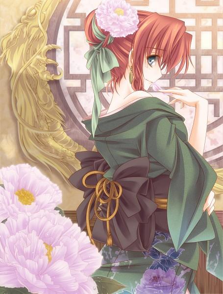 Tags: Anime, Moneti (Daifuku), Touhou, Hong Meiling