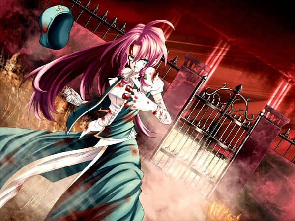 Tags: Anime, rion (glayjirobass), Touhou, Hong Meiling, Gate