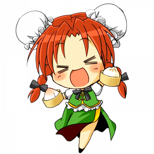 Tags: Anime, Sakura (Doors), Touhou, Hong Meiling, XD, >O<, Pixiv