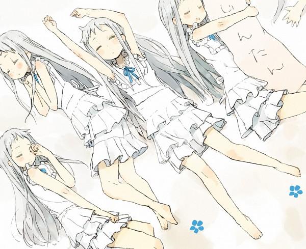 Tags: Anime, Nasuna, Ano Hi Mita Hana no Namae o Bokutachi wa Mada Shiranai., Honma Meiko, Shrunken Arms, Pixiv, Fanart, Fanart From Pixiv