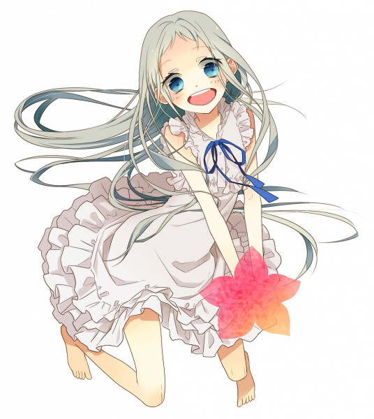 Tags: Anime, Naoto (Tulip), Ano Hi Mita Hana no Namae o Bokutachi wa Mada Shiranai., Honma Meiko, Fanart, Pixiv