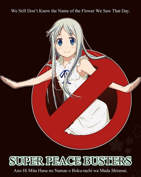Tags: Anime, Kisen Shijima, Ano Hi Mita Hana no Namae o Bokutachi wa Mada Shiranai., Honma Meiko, Pixiv, Fanart