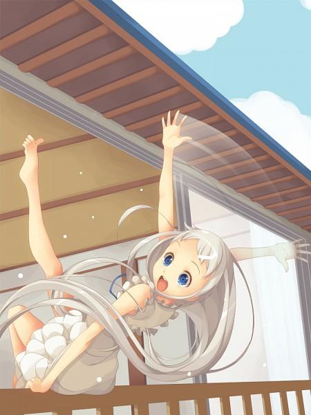 Tags: Anime, Koflif, Ano Hi Mita Hana no Namae o Bokutachi wa Mada Shiranai., Honma Meiko, Pixiv, Fanart