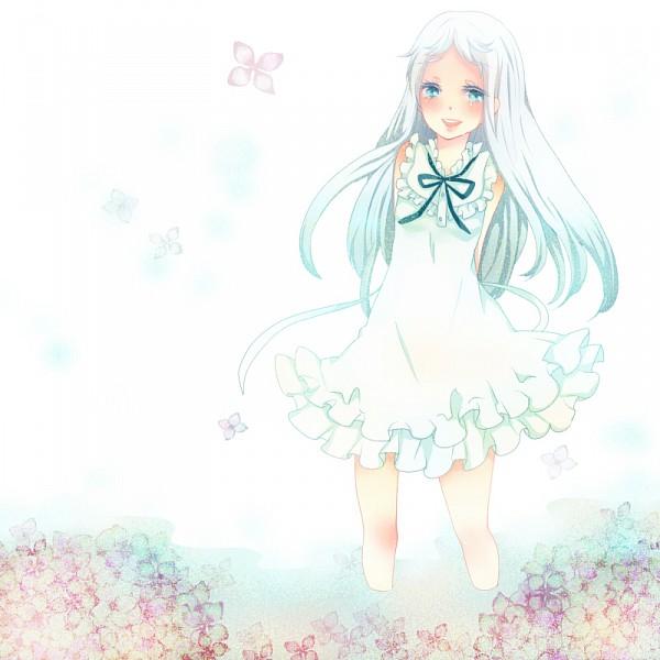 Tags: Anime, Awokokko, Ano Hi Mita Hana no Namae o Bokutachi wa Mada Shiranai., Honma Meiko, Fanart, Pixiv