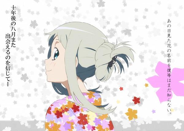 Tags: Anime, Saitou Kengo, Ano Hi Mita Hana no Namae o Bokutachi wa Mada Shiranai., Honma Meiko, Pixiv, Fanart