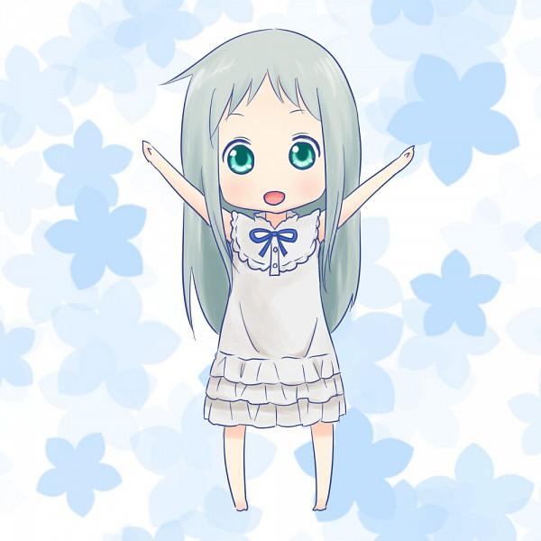 Tags: Anime, Pixiv Id 541434, Ano Hi Mita Hana no Namae o Bokutachi wa Mada Shiranai., Honma Meiko, Fanart