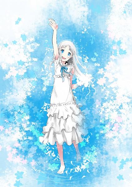 Tags: Anime, Koto Koto, Ano Hi Mita Hana no Namae o Bokutachi wa Mada Shiranai., Honma Meiko, Pixiv, Mobile Wallpaper, Fanart