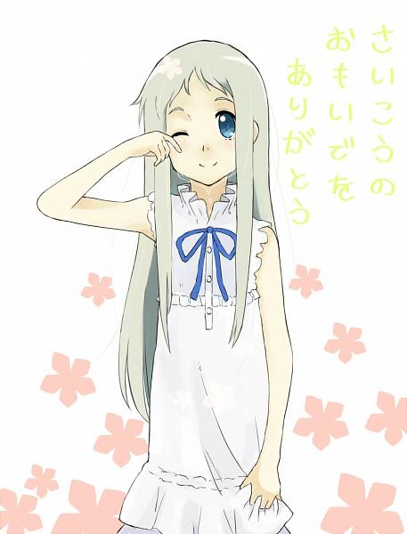 Tags: Anime, Pixiv Id 372329, Ano Hi Mita Hana no Namae o Bokutachi wa Mada Shiranai., Honma Meiko