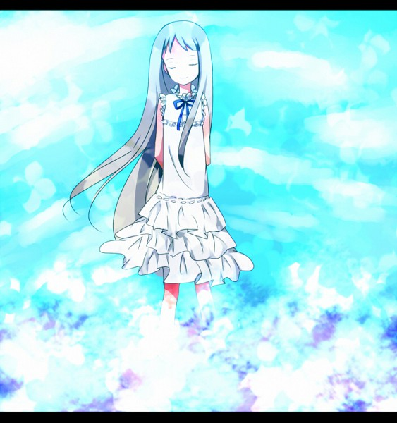 Tags: Anime, Pixiv Id 1042389, Ano Hi Mita Hana no Namae o Bokutachi wa Mada Shiranai., Honma Meiko, Pixiv, Fanart