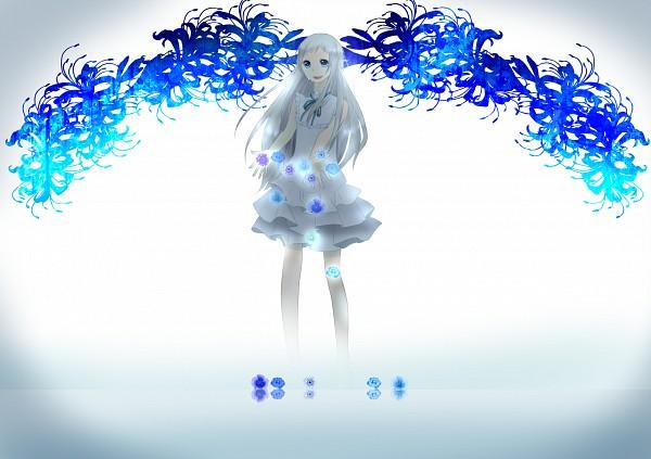 Tags: Anime, Pixiv Id 2442713, Ano Hi Mita Hana no Namae o Bokutachi wa Mada Shiranai., Honma Meiko, Disappearing, Fanart