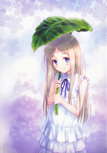 Tags: Anime, Goto-P, Ano Hi Mita Hana no Namae o Bokutachi wa Mada Shiranai., Menma no Me, Honma Meiko, Mobile Wallpaper