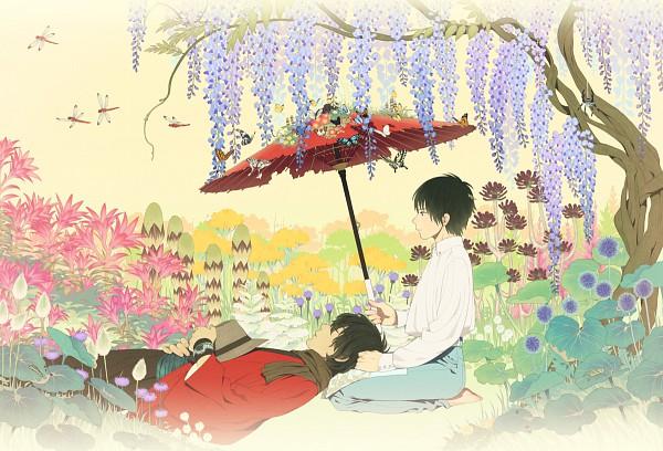 Tags: Anime, Honya Lala, Spider, Dragonfly, Pixiv