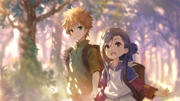 Tags: Anime, You Shimizu, Honzuki no Gekokujou, Lutz (Honzuki no Gekokujou), Myne (Honzuki no Gekokujou), Fanart From Pixiv, Pixiv, Fanart, Ascendance Of A Bookworm: Stop At Nothing To Be A Librarian