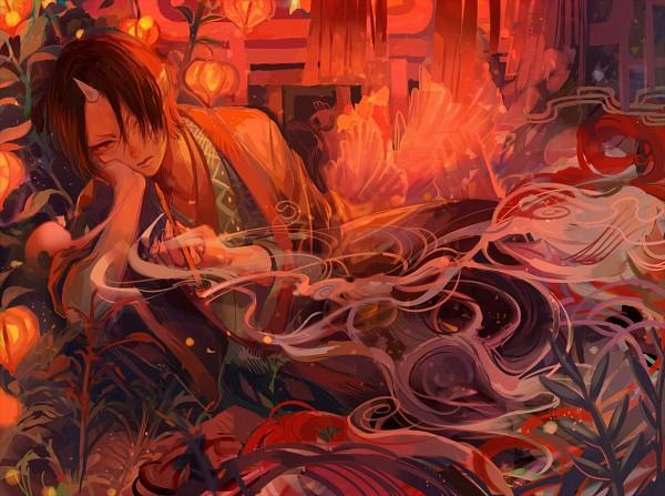 Tags: Anime, Pixiv Id 1227816, Hoozuki no Reitetsu, Hoozuki (Hoozuki no Reitetsu)