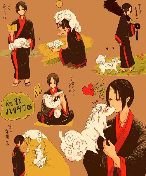 Tags: Anime, Pixiv Id 7494264, Hoozuki no Reitetsu, Hoozuki (Hoozuki no Reitetsu), Hakutaku (Creature Form), Hakutaku (Hoozuki no Reitetsu), Hakutaku, Fanart, Fanart From Pixiv, Pixiv, Cool-headed Hoozuki
