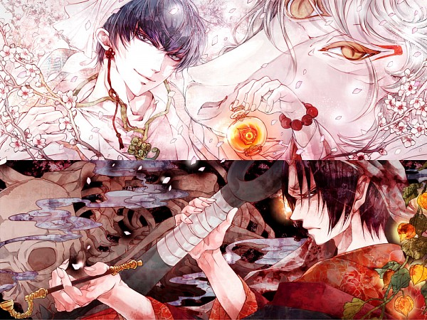 Tags: Anime, Shiomachi Kona, Hoozuki no Reitetsu, Hakutaku (Creature Form), Hakutaku (Hoozuki no Reitetsu), Hoozuki (Hoozuki no Reitetsu), Hakutaku, Fanart From Pixiv, Pixiv, Fanart, Cool-headed Hoozuki