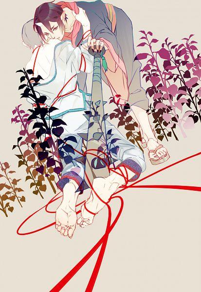 Tags: Anime, Pixiv Id 4056642, Hoozuki no Reitetsu, Hakutaku (Hoozuki no Reitetsu), Hoozuki (Hoozuki no Reitetsu), Clinging, Pixiv, Cool-headed Hoozuki