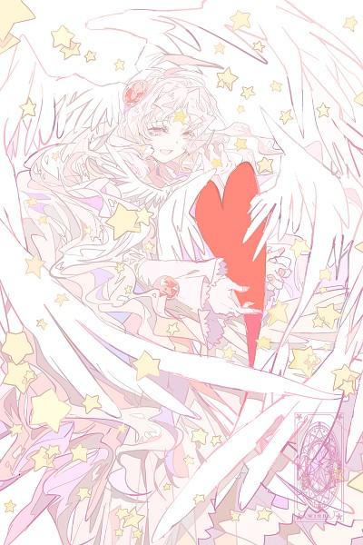 Tags: Anime, Winni (Pixiv8251400), Cardcaptor Sakura, Hope Card, Clow Cards, Mobile Wallpaper, Fanart, Fanart From Pixiv, Pixiv