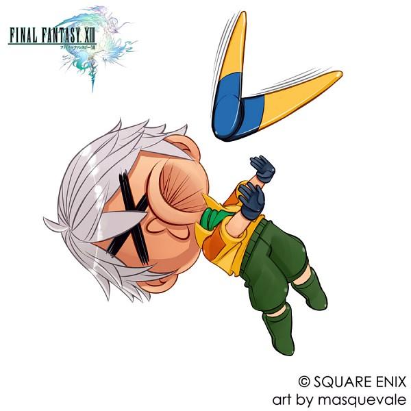 Tags: Anime, SQUARE ENIX, Final Fantasy XIII, Hope Estheim