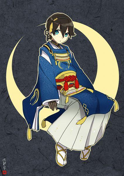 Tags: Anime, Ot-nm, Touken Ranbu, Horikawa Kunihiro, Mikazuki Munechika (Cosplay), Fanart, Fanart From Pixiv, Pixiv