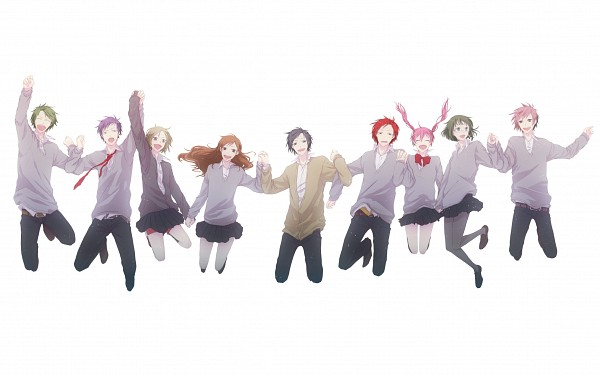 Tags: Anime, Pixiv Id 1981008, Horimiya, Kouno Sakura, Miyamura Izumi, Iura Shuu, Hori Kyoko, Yoshikawa Yuki, Yanagi Akane, Ishikawa Toru, Sengoku Kakeru, Ayasaki Remi, Fanart