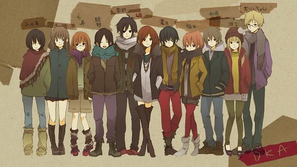 Tags: Anime, DKA HERO, Horimiya, Hori Kyoko, Miyamura Izumi, Character Request, Wallpaper, HD Wallpaper, Facebook Cover, Official Art