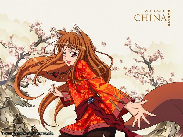 Tags: Anime, Ookami to Koushinryou, Horo, Wallpaper