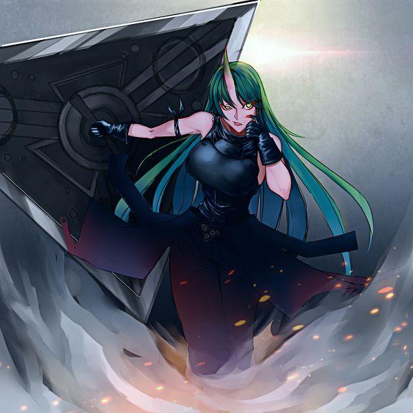 Tags: Anime, Pixiv Id 1127780, Arknights, Hoshiguma
