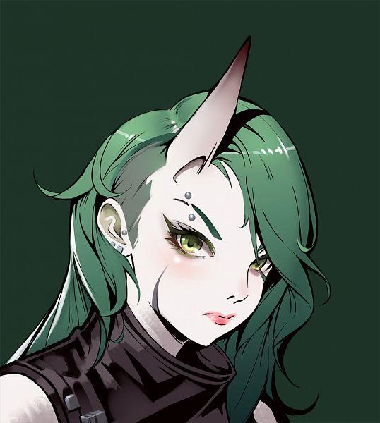 Tags: Anime, Pixiv Id 9870296, Arknights, Hoshiguma