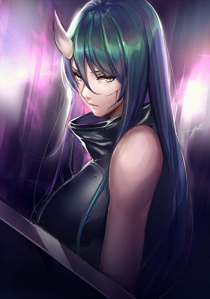 Tags: Anime, Pixiv Id 37046952, Arknights, Hoshiguma