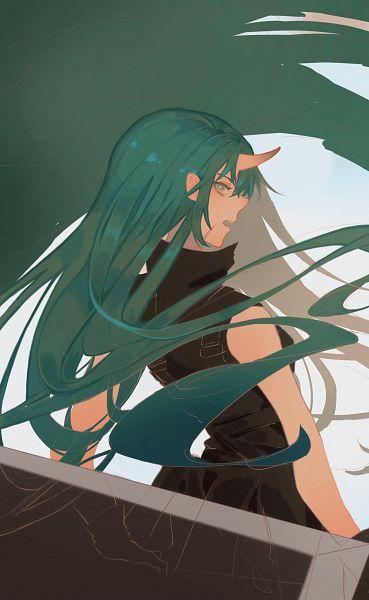 Tags: Anime, Pixiv Id 33422974, Arknights, Hoshiguma