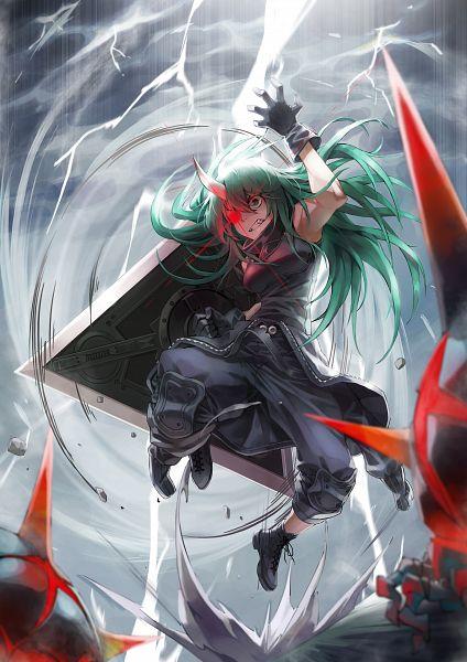Tags: Anime, Pixiv Id 5841610, Arknights, Hoshiguma
