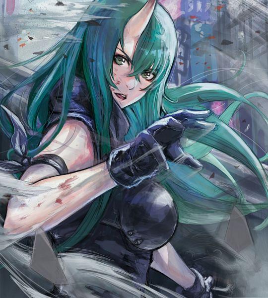Tags: Anime, Pixiv Id 44241926, Arknights, Hoshiguma