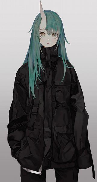 Tags: Anime, Pixiv Id 23057174, Arknights, Hoshiguma