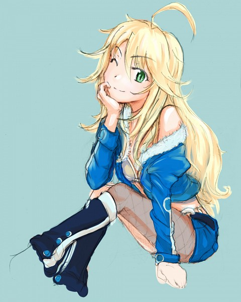 Tags: Anime, Ere (Elemental), THE iDOLM@STER, Hoshii Miki, Pixiv, Fanart From Pixiv, Fanart