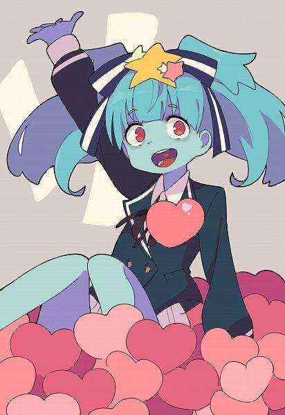 Tags: Anime, Pixiv Id 849815, Zombieland Saga, Hoshikawa Lily, Heart On Chest