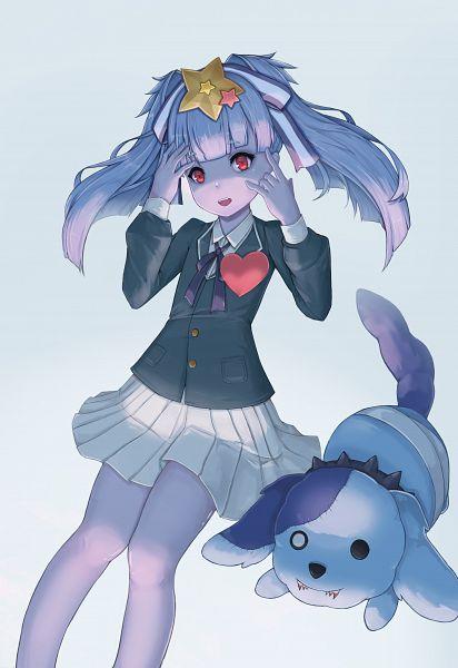 Tags: Anime, Pixiv Id 18017283, Zombieland Saga, Hoshikawa Lily, Romero, Heart On Chest