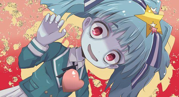 Tags: Anime, Pixiv Id 24922457, Zombieland Saga, Hoshikawa Lily, Heart On Chest, Fanart, Fanart From Pixiv, Pixiv