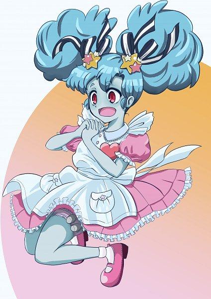 Tags: Anime, Pixiv Id 38354337, Zombieland Saga, Hoshikawa Lily, Heart Out Of Chest