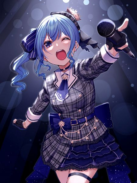 Tags: Anime, Nekomanma (Chipstar182), Hololive, Suisei Channel, Hoshimachi Suisei, Fanart, Fanart From Pixiv, Pixiv