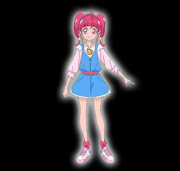 Tags: Anime, Takahashi Akira, Toei Animation, Star☆Twinkle Precure, Hoshina Hikaru, Official Art, Character Sheet