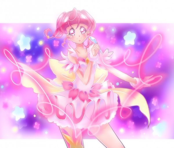 Tags: Anime, Shunciwi, Star☆Twinkle Precure, Hoshina Hikaru, Transformation, Pixiv, Fanart, Fanart From Pixiv