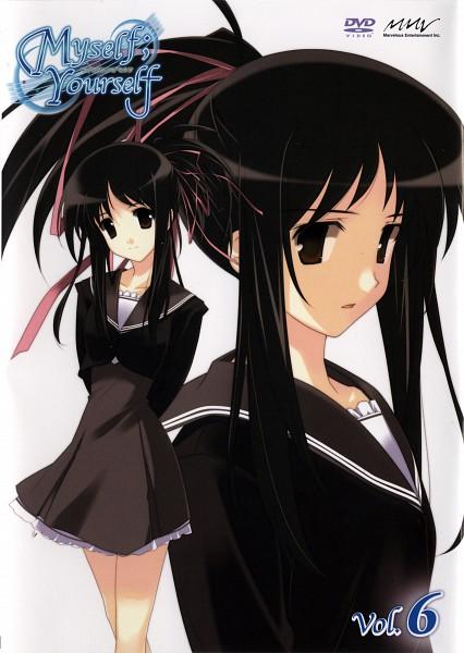 Tags: Anime, Myself; Yourself, Hoshino Asami, DVD (Source), Official Art, Scan