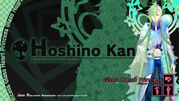 Tags: Anime, Kinami Yuki, Glass Heart Princess, Hoshino Kanata, Alien, HD Wallpaper, Official Art, Facebook Cover, Official Wallpaper, Wallpaper