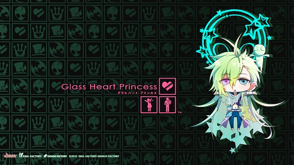 Tags: Anime, Kazuki Yone, Kinami Yuki, Glass Heart Princess, Hoshino Kanata, Arete, Alien, Official Wallpaper, HD Wallpaper, Wallpaper, Facebook Cover, Official Art