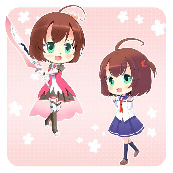 Tags: Anime, Pixiv Id 16291558, Battle Girl High School, Hoshitsuki Miki